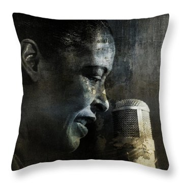 Billie Holiday - All That Jazz Throw Pillow