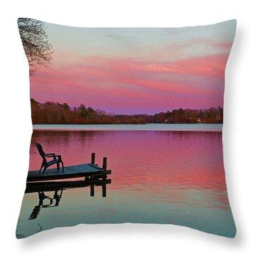Billington Sea Perfection Throw Pillow by Amazing Jules