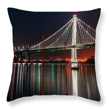 Throw Pillow featuring the photograph Billion Dollar View by Peter Thoeny