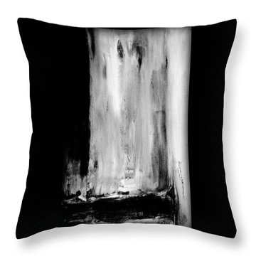 Billowing At Midnight Throw Pillow