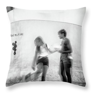 Billy Jean Throw Pillow