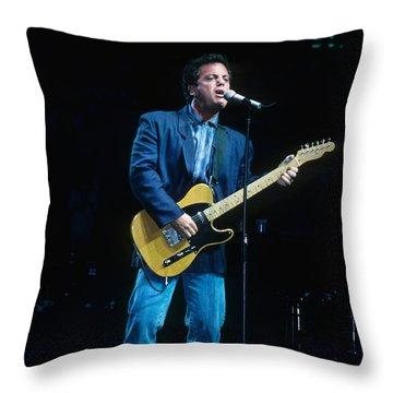 Billy Joel Throw Pillow