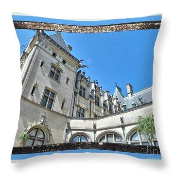 Biltmore 3 Throw Pillow