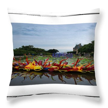 Biltmore Chihuly1 Throw Pillow