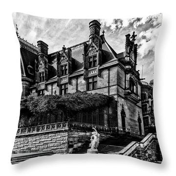 Biltmore Estate, Asheville Throw Pillow
