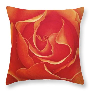 Biltmore Rose Throw Pillow