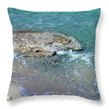 Bimini After Wave Throw Pillow