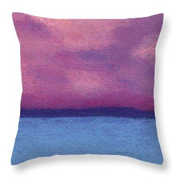 Bimini Sunrise Throw Pillow