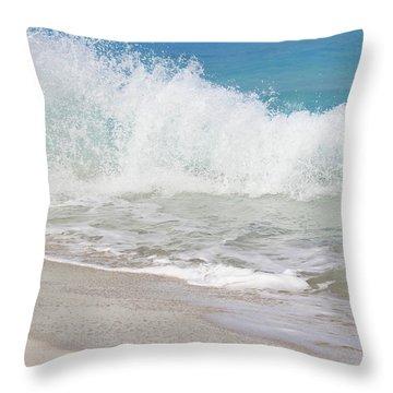 Bimini Wave Sequence 1 Throw Pillow