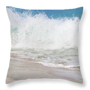 Bimini Wave Sequence 2 Throw Pillow