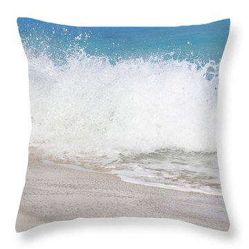 Bimini Wave Sequence 3 Throw Pillow