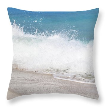 Bimini Wave Sequence 4 Throw Pillow