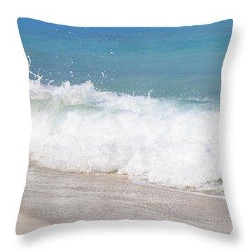 Bimini Wave Sequence 5 Throw Pillow