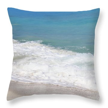 Bimini Wave Sequence 6 Throw Pillow