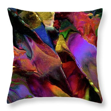 Binary Star System Throw Pillow