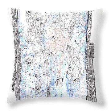 Bingham Fluid Or Paste Throw Pillow