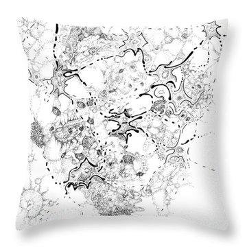 Biology Of An Idea Throw Pillow