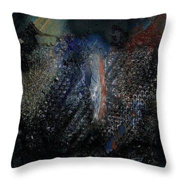 Biospheres Ipo - The World As Will And Representation - Arthur Schopenhauer - Ecological Footprint  Throw Pillow
