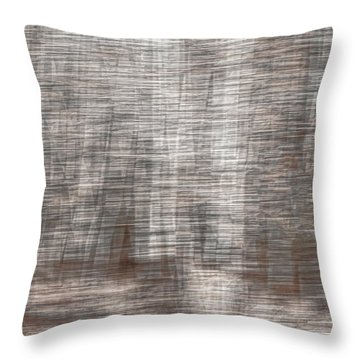 Throw Pillow featuring the photograph Birch At The Forest Edge by Thomas Young