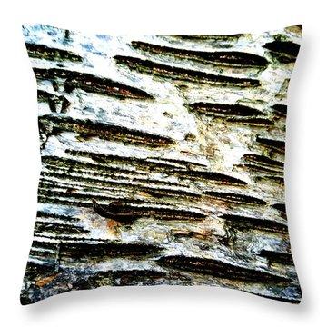 Birch Bark Throw Pillow