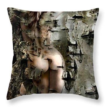 Birch Beauty Throw Pillow