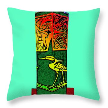 Bird Box Throw Pillow