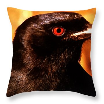 Bird Friend  Throw Pillow