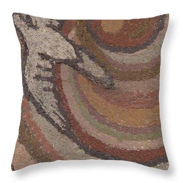 Bird Of Desert Sand Throw Pillow by Dawn Senior-Trask