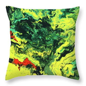 Bird Of Paradise Throw Pillow by Ralph White