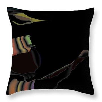 Bird Sender Throw Pillow