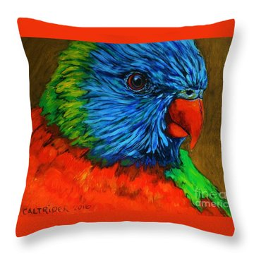 Birdie Birdie Throw Pillow