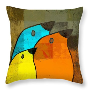 Birdies - C02tj1265c2 Throw Pillow
