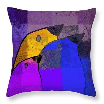 Birdies - C02tj126v5c35 Throw Pillow