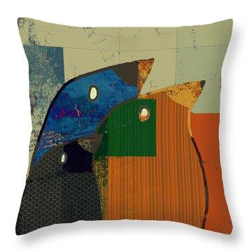 Birdies - C412-j128121170 Throw Pillow