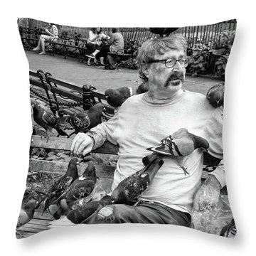 Birdman Of Wsp Throw Pillow