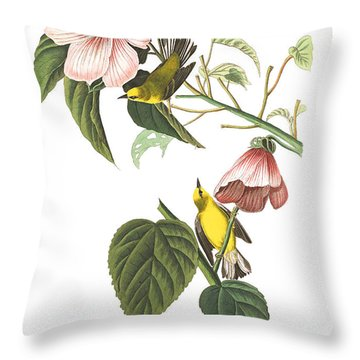 Throw Pillow featuring the photograph Birds Chat by Munir Alawi