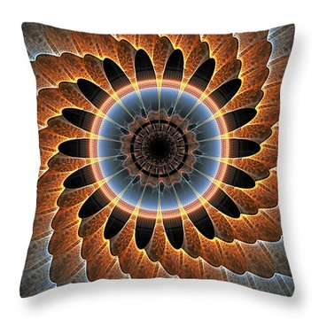 Birds Eye Throw Pillow
