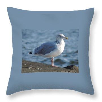 Birds In The Air  Throw Pillow