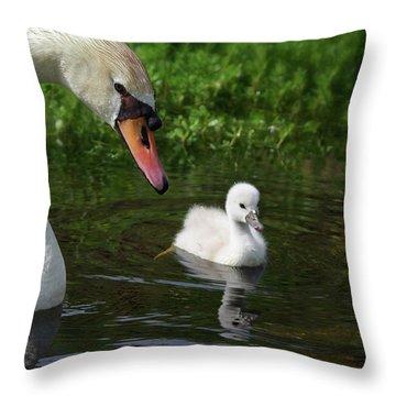 Birds Of Feather... Throw Pillow
