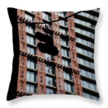 Birds Of Soul  Throw Pillow by Empty Wall