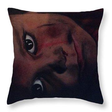 Birds Or Bombs Throw Pillow