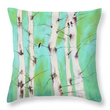Birdsong Throw Pillow
