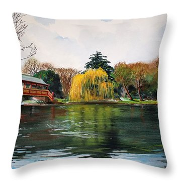 Birkenhead Park, Throw Pillow