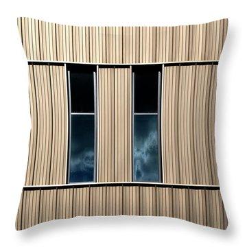 Birmingham Windows 2 Throw Pillow