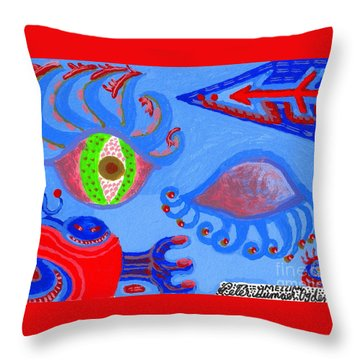 Birth And Death Throw Pillow