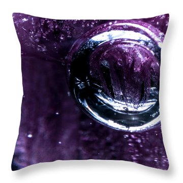 Throw Pillow featuring the photograph Birth by Eric Christopher Jackson