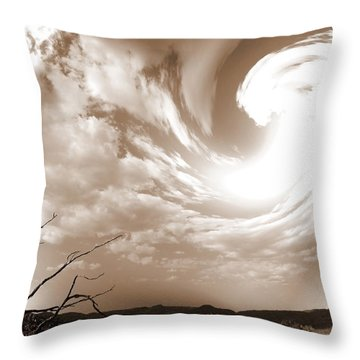 Birth Of Brazilian Nature Throw Pillow