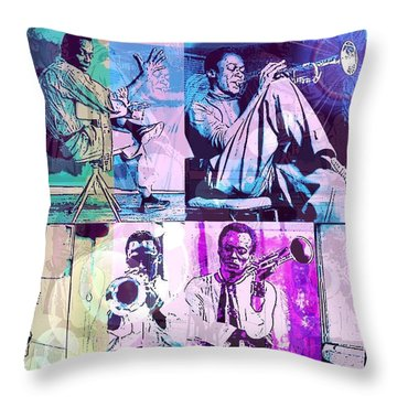 Birth Of The Cool Throw Pillow