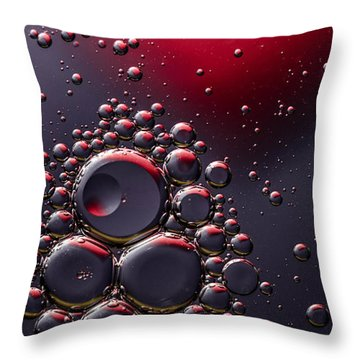 Birth Of The Red Mercury Sun Throw Pillow by Bruce Pritchett