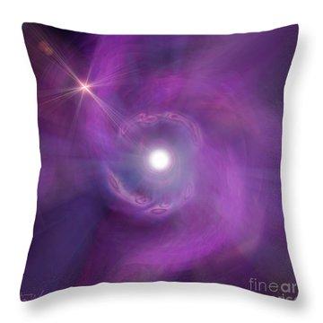 Birth Throw Pillow